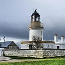 Cromarty Lighthouse.  by Lilian Marshall