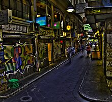Degraves St 12 by John Ferguson