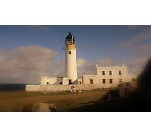 Rua Reidh Lighthouse Photographic Print