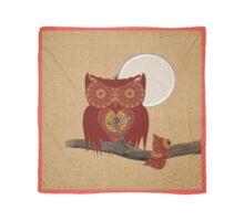 Cute Night Owl Fun Illustration Scarf