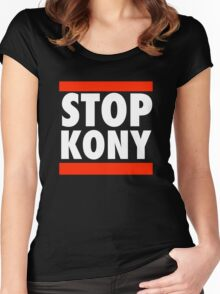 STOP KONY 2012 RUN DMC Women's Fitted Scoop T-Shirt