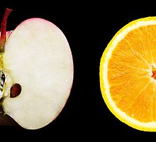 Apples and Oranges by barnabychambers