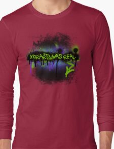 Moriarty was real (mania) Long Sleeve T-Shirt
