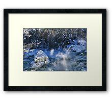 Plaisance Waterfalls Framed Print