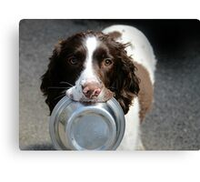 Supper Please Canvas Print