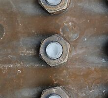Rusting Nuts and Bolts Urbex Decay by pdgraphics