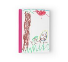 Playing outside with Carolyn Hardcover Journal