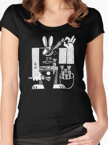 Carrots All Day Long Women's Fitted Scoop T-Shirt