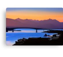Isle of Skye Bridge, Kyle of Lochalsh, Scotland Canvas Print
