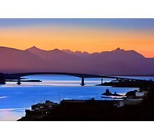 Isle of Skye Bridge, Kyle of Lochalsh, Scotland Photographic Print