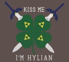 Kiss Me I'm Hylian Kids Clothes