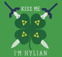 Kiss Me I'm Hylian Kids Clothes