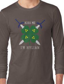 Kiss Me I'm Hylian Long Sleeve T-Shirt