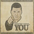 Shepard Needs You by Adho1982