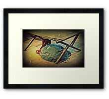 In the Army Now Framed Print