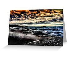 Another Day Fades Away Greeting Card