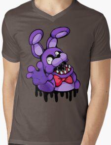 Graffiti Bonnie Mens V-Neck T-Shirt