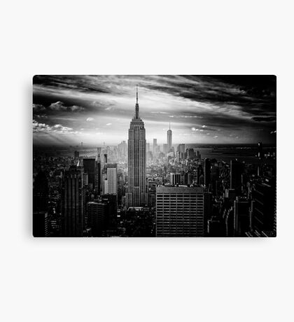 New York City Empire State Building Canvas Print