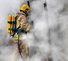 Firefighter by Eddie Howland