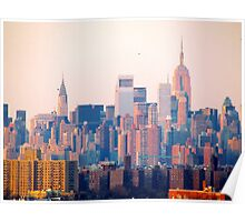 New York City Morn Poster