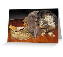 Bella's Boots Greeting Card