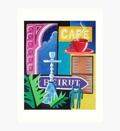 Beirut Nights II Art Print