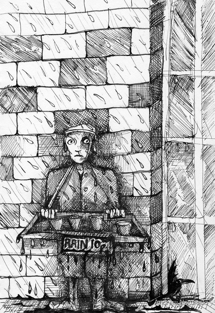 Rain 10 Pence. by Andreav Nawroski