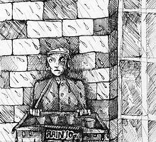 Rain 10 Pence. by Andy Nawroski