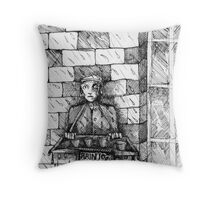 Rain 10 Pence. Throw Pillow