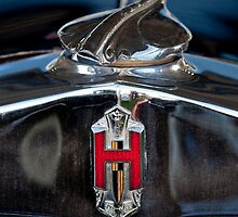 1929 Hupmobile Century Six Sedan Hood Emblem by Jill Reger