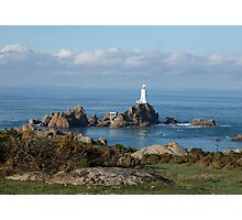 'La Corbière' lighthouse, Jersey, Channel islands Photographic Print