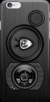 SPEAKER IPHONE CASE 3b by ALIANATOR