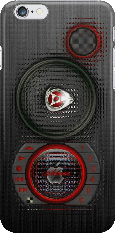 SPEAKER IPHONE CASE 3a (Blur) by ALIANATOR