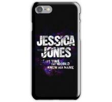 Jessica Jones - Her Name iPhone Case/Skin