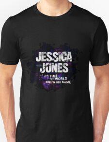 Jessica Jones - Her Name Unisex T-Shirt