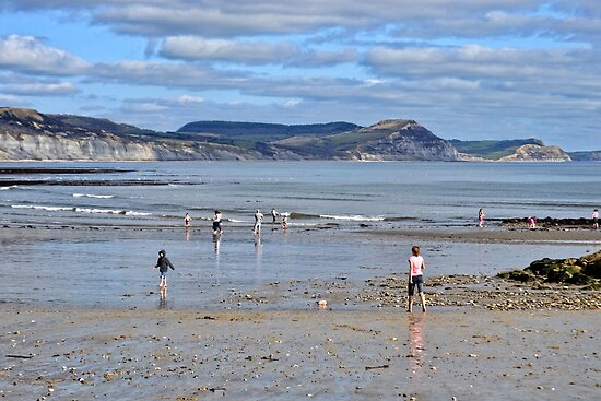 Beautiful Lyme Regis Today by lynn carter