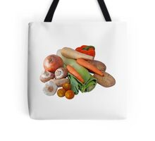Fresh Vegetable Selection Tote Bag