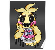 Graffiti Toy Chica Poster
