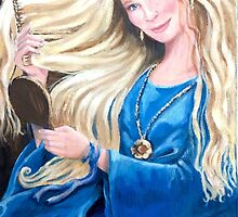 Kimberley in the style of Rosetti by Redbarron