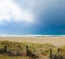 Mount Maunganui main beach 2 by Anne Scantlebury