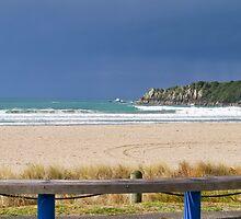 Mount Maunganui main beach 3 by Anne Scantlebury
