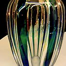 Reflections on a green vase by bubblehex08