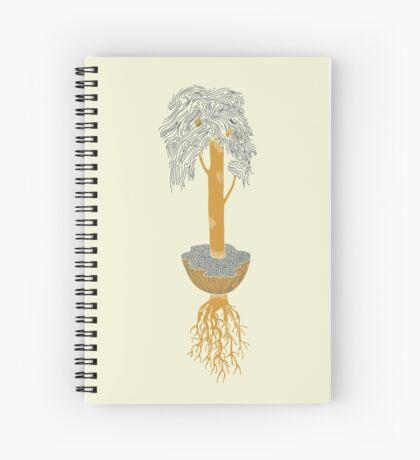 Last Yellow Tree Spiral Notebook