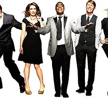 30 Rock Cast by allyroos