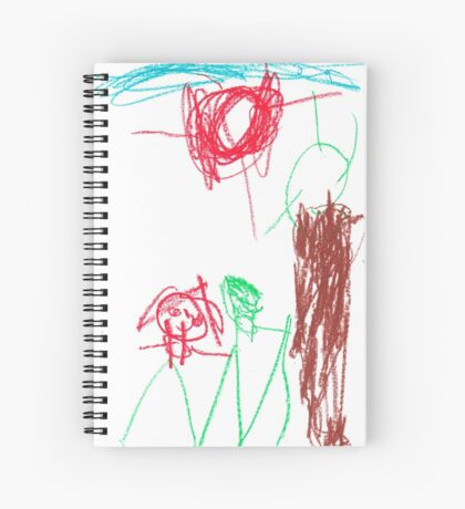 Renae and Elliott Spiral Notebook