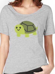 EMOJI TURTLE Women's Relaxed Fit T-Shirt