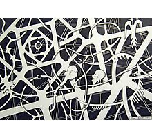 236 - THE MEETING - DAVE EDWARDS - INK - 2012 Photographic Print