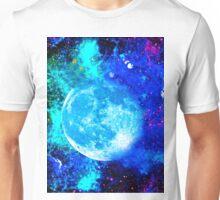 Galaxy Moon and Stars Unisex T-Shirt
