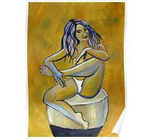 Woman posing Poster
