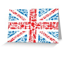 British and Proud Greeting Card
